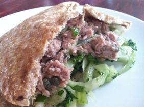 Mayo-less Tuna Salad