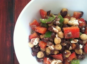 Lemon Pepper Bean Salad