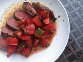 Peppered Steak & Tomato Salad